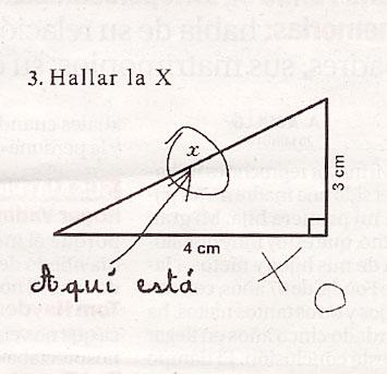 """Hallar la """"X"""""""